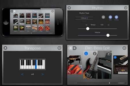 Yamaha p255 Review - Ipad App