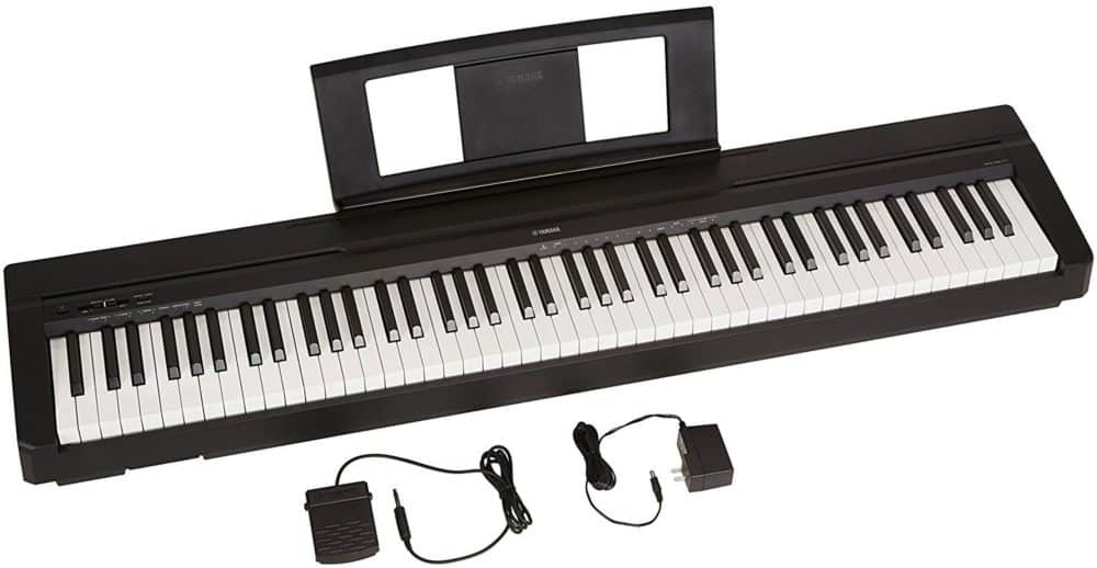 yamaha p71 review great for beginners digital piano reviews. Black Bedroom Furniture Sets. Home Design Ideas